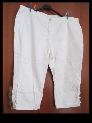 Weiße Capri Jeanshose in Größe 56