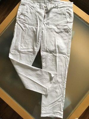 Adriano Goldschmied Spodnie Capri biały