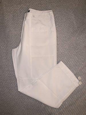 Weiße Caprihose