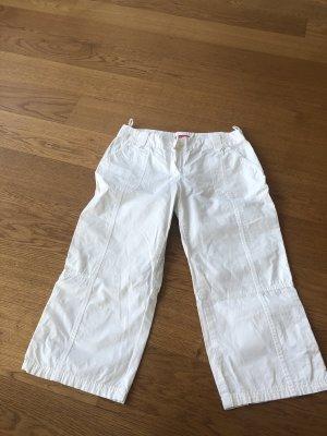 Weiße Cargo Hose 3/4 von s.Oliver Größe S
