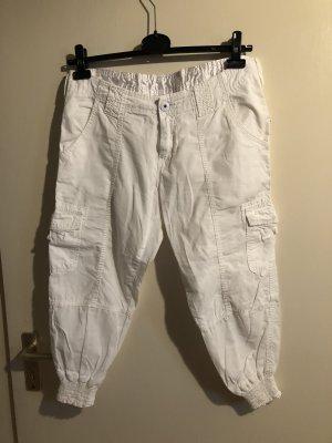 Weiße Cargo Hose/Sommer