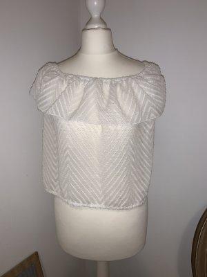 Hollister Carmen blouse wit