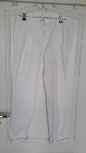 bpc bonprix collection Pantalon chinos blanc coton