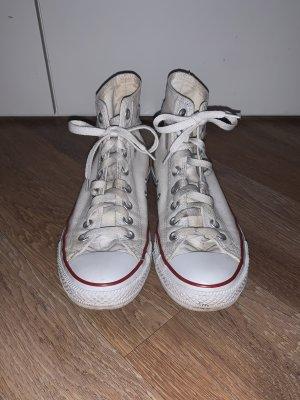 Weiße Converse Chucks Größe 41