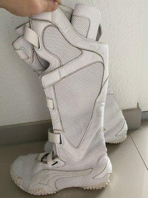 Puma Aanrijg laarzen wit-zilver