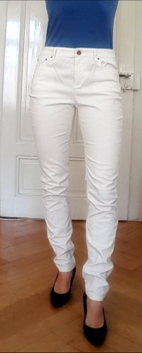 Boden Spodnie sztruksowe biały