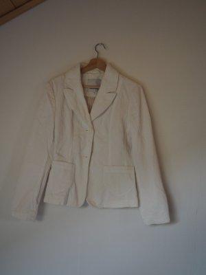 Weiße Cordjacke von Tom Tailor