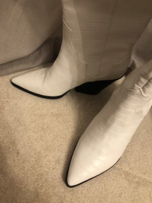 H&M Desert Boots white