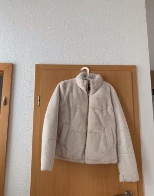 Zara Giacca di lana bianco sporco-crema