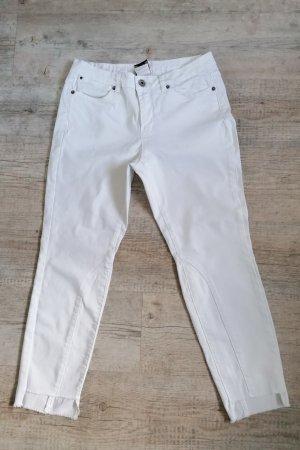 Best Connections Jeans 7/8 blanc coton
