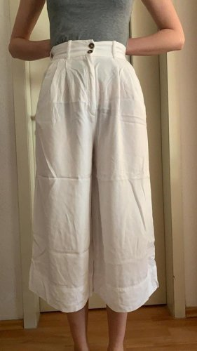 H&M Culottes white lyocell