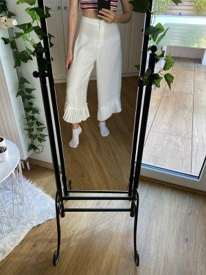 Asos Culotte blanc-blanc cassé