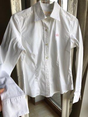 Weiße Damen Bluse, La Martina 2 mal getragen