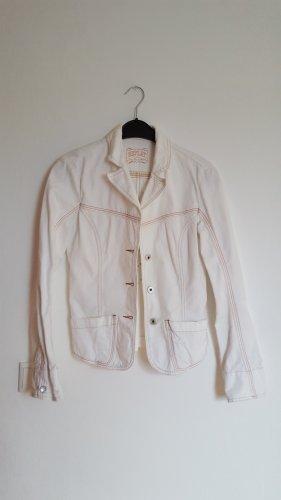 Weiße Damenjeansjacke Original von Replay