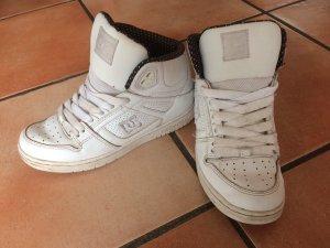 Weiße DC Skater Schuhe, Gr. 37