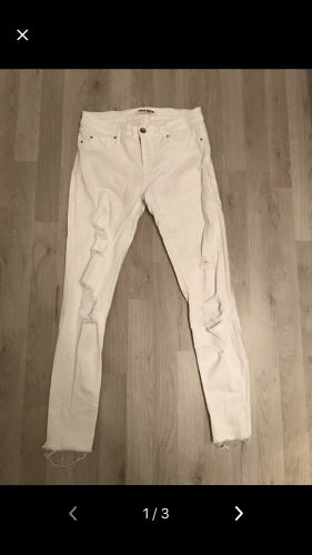 Weisse destroyed Jeans