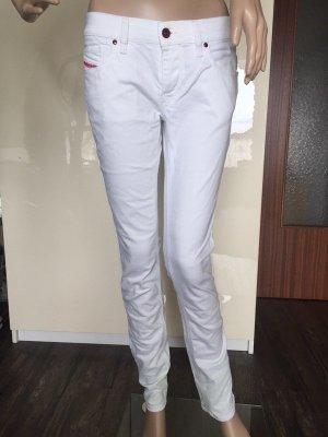 Weiße Diesel Jeans
