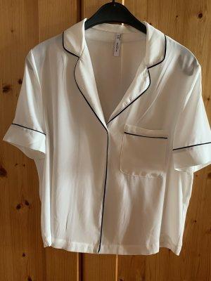 Weiße, elegante Bluse