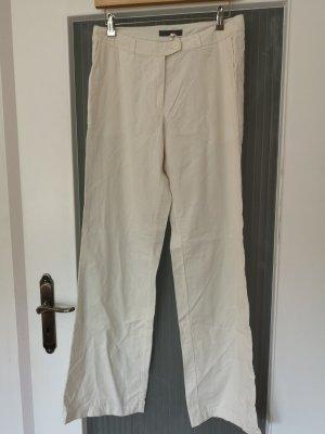 Weiße elegante Hose aus Feincord von S.Oliver