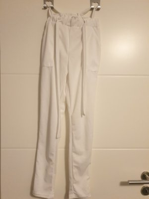weiße elegante hose
