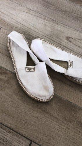 Zeilschoenen wit