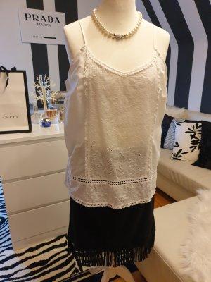weiße Esprit Bluse mit Spagettiträgern Gr.44 (NEU)