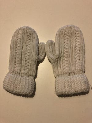 Mittens white-natural white