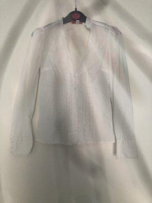 Weiße feine Bluse weiß gr.Xs