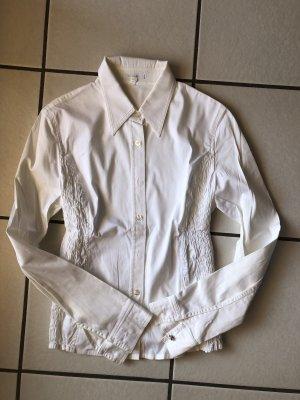 Weiße, festliche Bluse von ESCADA