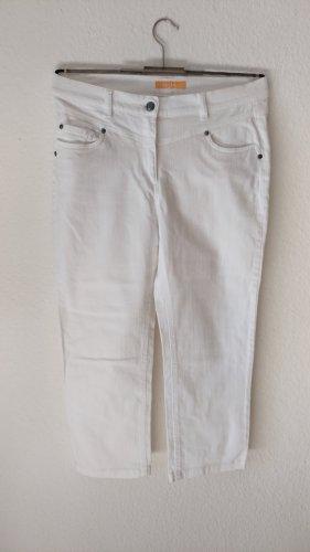 Biba Pantalone cinque tasche bianco
