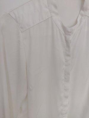 Weiße fließendes Bluse von Vila in S 36 wie neu toller Kragen