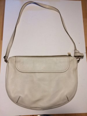 Furla Hobos white leather