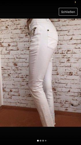 weiße Garcia Jeans
