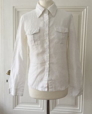 Authentic Linen Blouse white-oatmeal linen