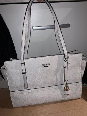 Weiße Guess Tasche