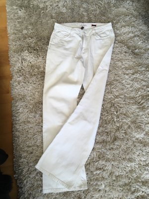 H.I.S Boot Cut Jeans white