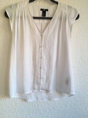 Weiße H&M Bluse