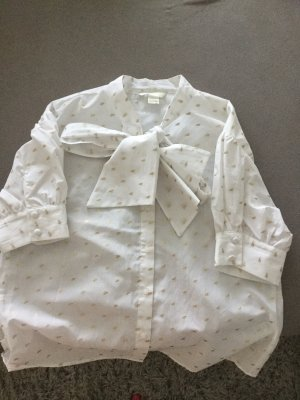 Weiße H&M Bluse Grüße 36