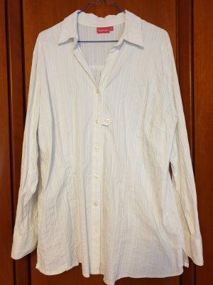 Big & Chic Lange blouse wit Katoen
