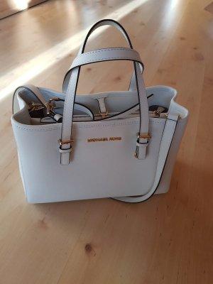 Weiße Handtasche von Michael Kors