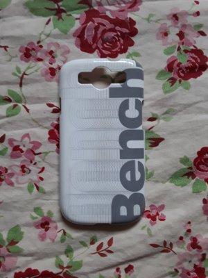 Bench Hoesje voor mobiele telefoons wit-grijs