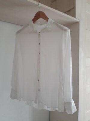 Blouse-chemisier blanc