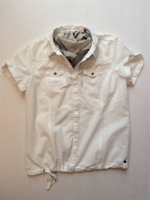 Weiße Hemdbluse, Gr. M, neu