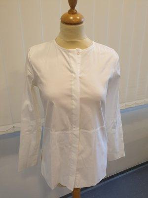 weiße Hemdbluse von Massimo Dutti