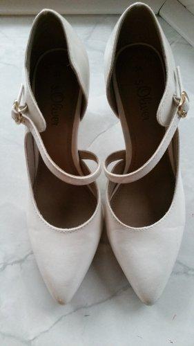 Weiße High Heels/Pumps von s.Oliver gr 38
