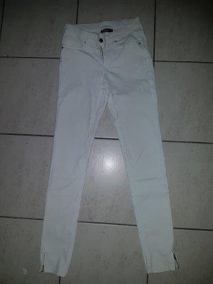weiße high waist