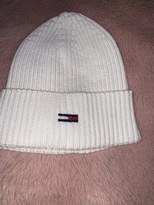 Tommy Hilfiger Cappello a maglia bianco