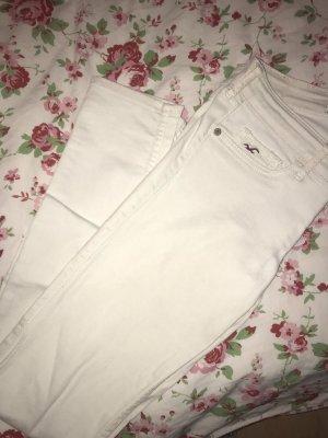 Hollister Pantalone a vita bassa bianco