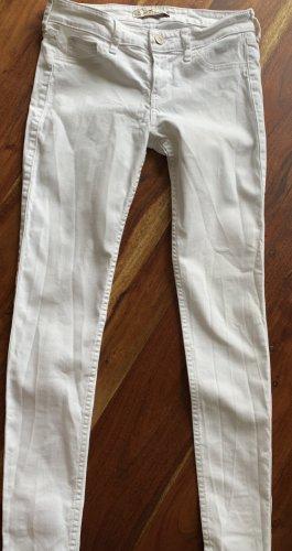 Weiße Hollister Jeans