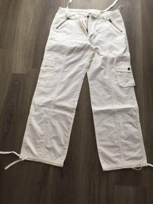 Basic Line Cargo Pants natural white-white